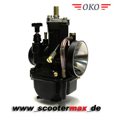 Tuning OKO 30 mm PWK Vergaser Black Edition NEU Racing Flachschiebervergaser