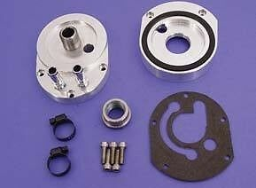 Sifton Oil Filter Adapter for Cooler Harley TwinCam
