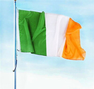 Irish Flag Large 3 X 5 Foot Ireland Eire Indoor Outdoor With Brass Grommets New