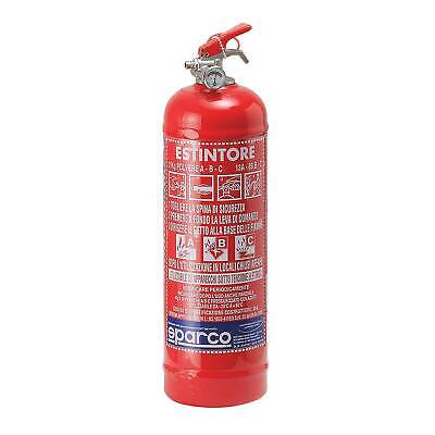 Sparco Hand Held Powder Fire Extinguisher - 2kg - For Workshop/Service Vehicles