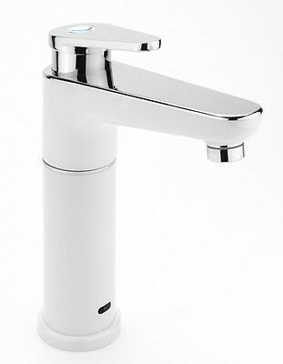 Electric Heated Instant Hot Water Kitchen Tap Sink Mixer Hand Wash 2.8KW