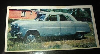 1952 FORD CONSUL  Mk 1  Orig Trading Card RSPOA UK