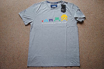 Joystick Junkies Evolution Of The Code T Shirt Bnwt Official Gaming Game