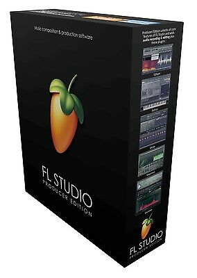 Image Line Fl Studio 12 Producer Edition Full Boxed Retail New