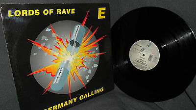 """12"""" Hardcore - Lords of Rave - Germany calling - Atomic Energy Records Commissio"""