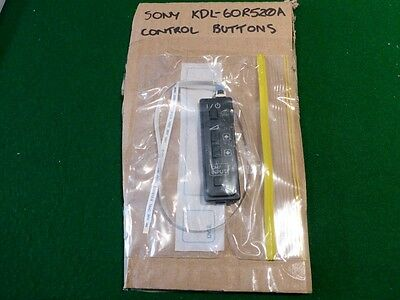 "Out Of Sony Kdl-60R520A 60"" Led Tv, Control Button Set Only, Ec"