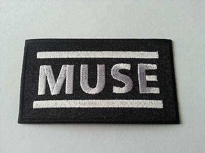 HEAVY METAL PUNK ROCK MUSIC SEW / IRON ON PATCH:- MUSE PATCH No. 0037