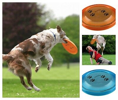Dog Frisbee Dog Toy Bite Proof Disc Tournament Approved 2 Sizes