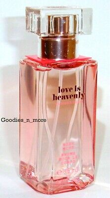 VICTORIA'S SECRET LOVE IS HEAVENLY FRAGRANCE BODY MIST 2.5 oz/75 ml Travel Size