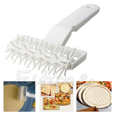 Pizza Pie Pastry Dough Docker Cookies Roller Dough Pitter Crust Embossing Tool