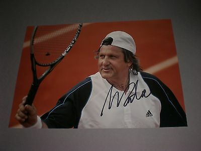 Ilie Nastase Tennis signed signiert autograph Autogramm 20x28 Foto in person