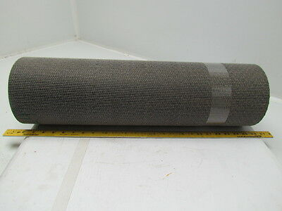 "1 Ply Rough Top Material Handling Incline Conveyor Belt 24"" Wide 10Ft Long"