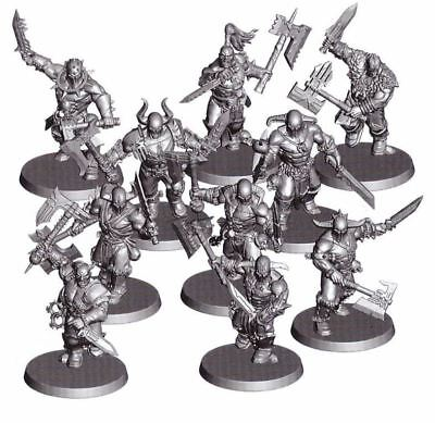 Chaos Khorne BLOODREAVERS MARAUDERS x 10 Age of Sigmar