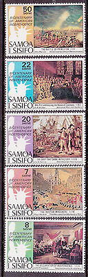 1976 Samoa Bicentenary of American Independence - MUH Complete Set