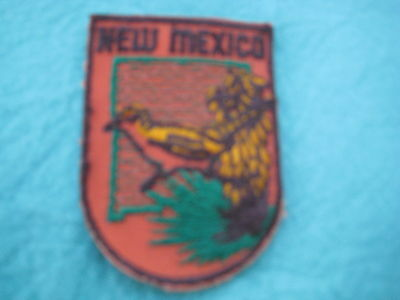 """Vintage State Of New mexico sew on Patch 2"""" X 2 3/4 """""""