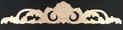 "28"" inch Maple Wood Ornament Hand Carved"