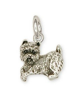 Sterling Silver Cairn Terrier Charm Jewelry CWT10C