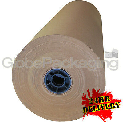 900mm x 225M BROWN KRAFT WRAPPING PAPER ROLL 225 METRES, 88gsm
