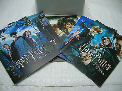 Harry Potter Movie Programmes Japanese Program Magazine Movie x 5