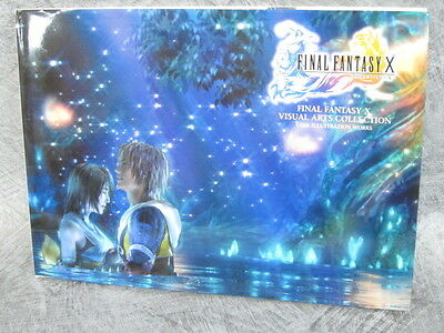 FINAL FANTASY X 10 Visual Art Collection Illustration Book DC78*