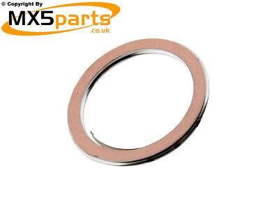 Genuine OE Mazda Exhaust Gasket all MX5 Mk2 2.5 1998 2005