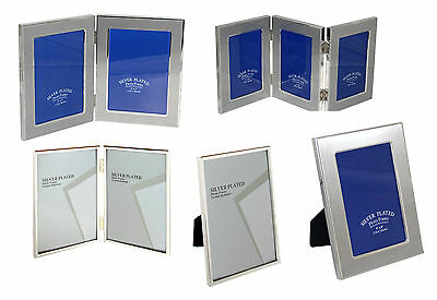 """Silver Plated 5 X 7"""" / 4 X 6"""" / 8 X 10"""" Picture Frame Photo Frame"""
