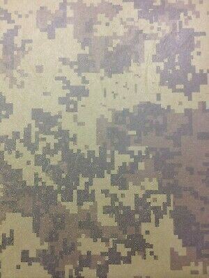 Kydex T Sheet 297 X 210 X 2Mm A4 Size Woodland Digital Camoflage Infused Panel