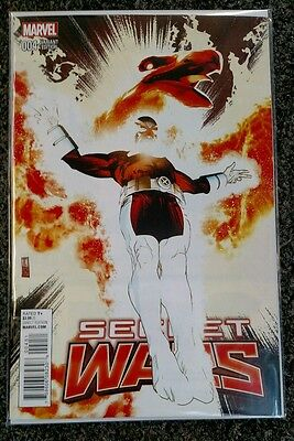 Marvel Secret Wars #4 Coker Variant NM 2015 1:25