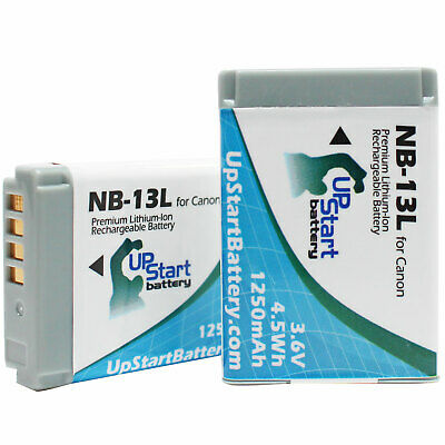 2x Battery for Canon G7X Battery