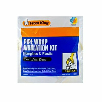 Thermwell Products SP41X Fiberglass Pipe Insulation Kit