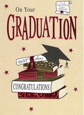 ON YOUR GRADUATION Congratulations Greeting Card Second Nature Greetings  Cards
