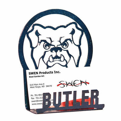 SWEN Products BUTLER BULLDOGS Metal Business Card Holder