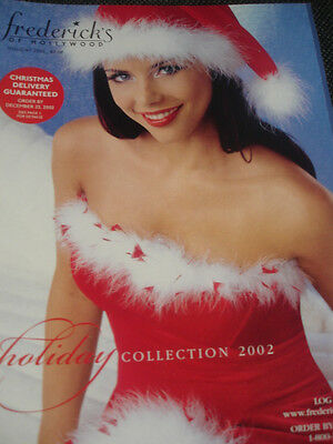 Frederick's of Hollywood 2002 Holiday Collection #1 HOT edition