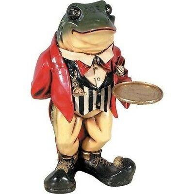 Frog Statue - Mr Toad's Restaurant Bar Butler Display Prop