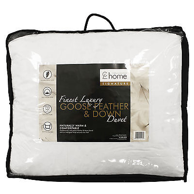 Catherine Lansfield Signature Finest Luxury Goose Feather & Down Duvet Quilt