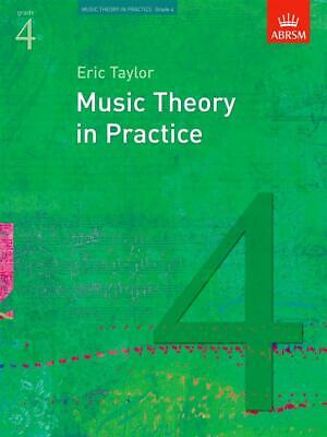Music Theory in Practice Grade 4; Taylor, Eric, FMW - 9781860969454
