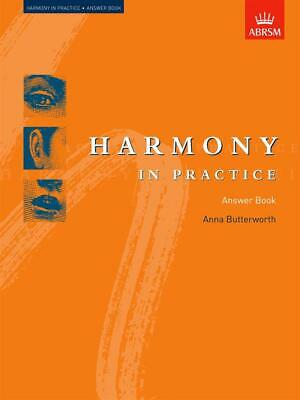 Harmony in Practice Answer Book, Paperback; Butterworth, Anna, Theory Workbooks