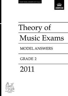 Theory of Music Exams 2011 Model Answers, Grade 2, Paperback, 9781848493766