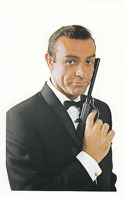James Bond - From Russia With Love - Sean Connery - Postcard D7