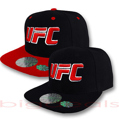 UFC Cap Logo Snap Back Hat Ultimate Fighting Championship MMA Mixed Martial Arts