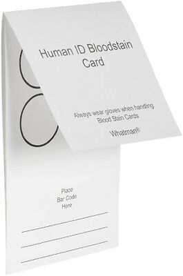 Whatman WB100014 Bloodstain Card Pack of 100