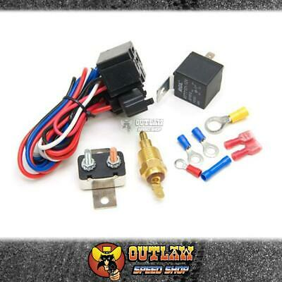 Aeroflow Thermo Fan Control Relay & Thermostat On @ 85°C Off @ 76°C - Af49-1006