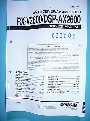 yamaha ax 750 service manual anleitung eur 8 60. Black Bedroom Furniture Sets. Home Design Ideas