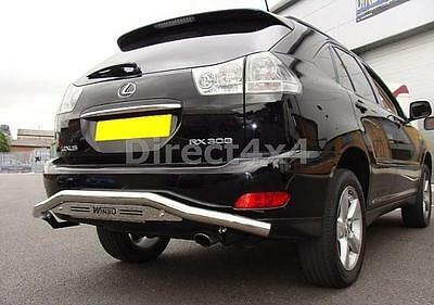 Lexus Rx300 1998 - 2003 S/S Stainless Steel Rear Bar Accessories Exterior Sets