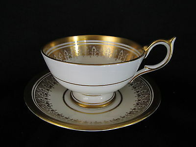Aynsley CHAMPAGNE 205, Tea cup & Saucer