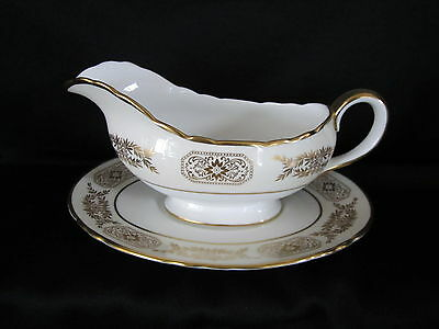 Aynsley ENGAGEMENT 135 - Gravy Boat & Stand