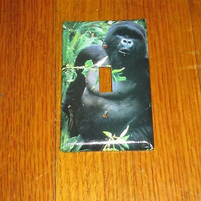 WILD GORILLA APE From the Jungle LIGHT SWITCH COVER PLATE