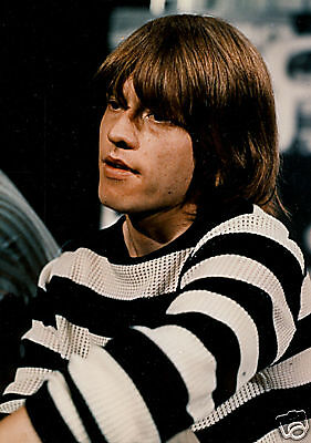 Brian Jones Rolling Stones early 60's 8x10 color photo