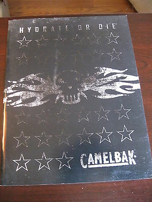 Camelbak Hydrate or Die Catalog Booklet / 2010  / New 64 Pages
