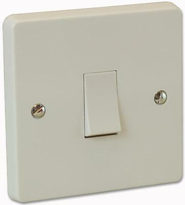 1 Gang 2 Way Plate Switch 10A , Crabtree , 4170